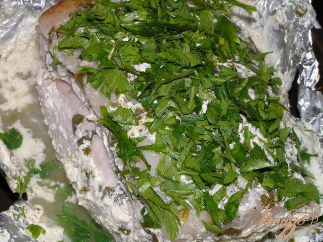 Фото приготовление рецепта: Запеченная свинина в ароматном маринаде + бонус: соус! шаг №5