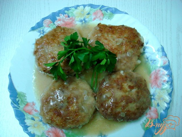 Фото приготовление рецепта: Котлеты с картофелем шаг №5