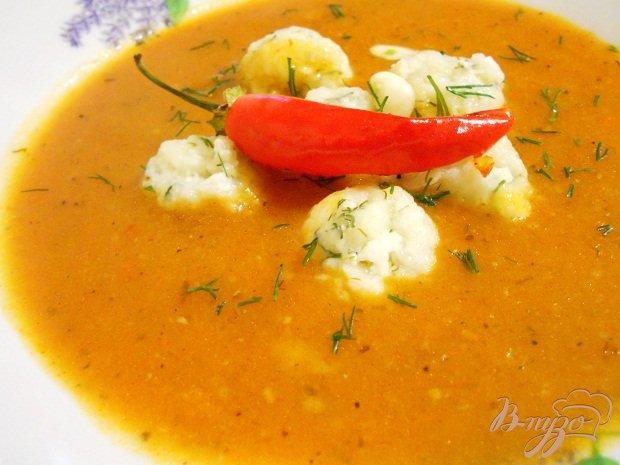 Фото приготовление рецепта: Итальянский томатный суп шаг №4