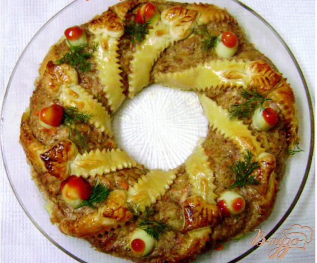 Рецепт Мясной венок