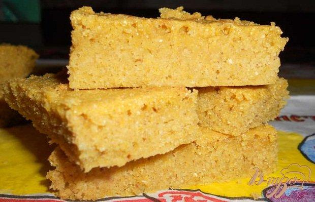 Фото приготовление рецепта: Кукурузное печенье шаг №4