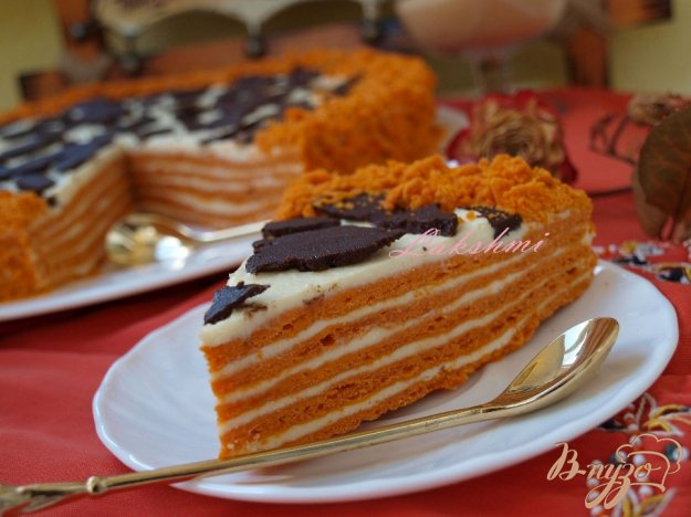 Рецепт Вкусный торт «Сахара»
