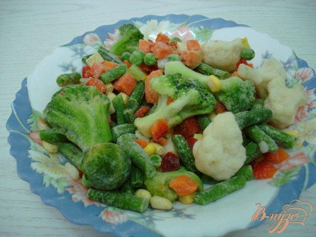 Фото приготовление рецепта: Овощной суп с фрикадельками шаг №4