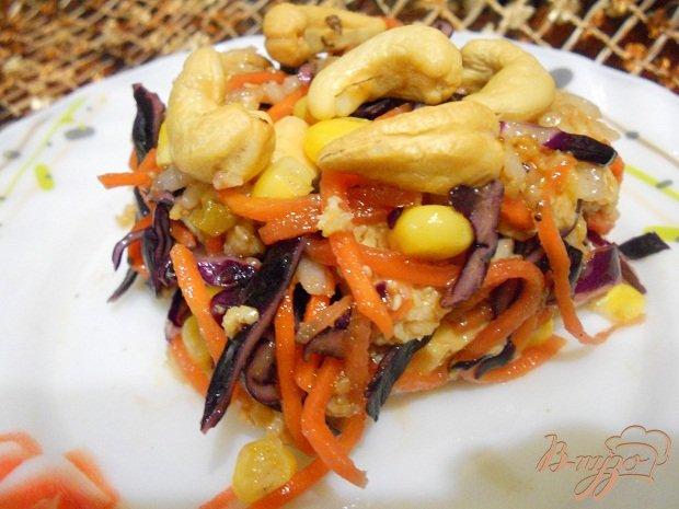 Рецепт Салат с курицей и кешью