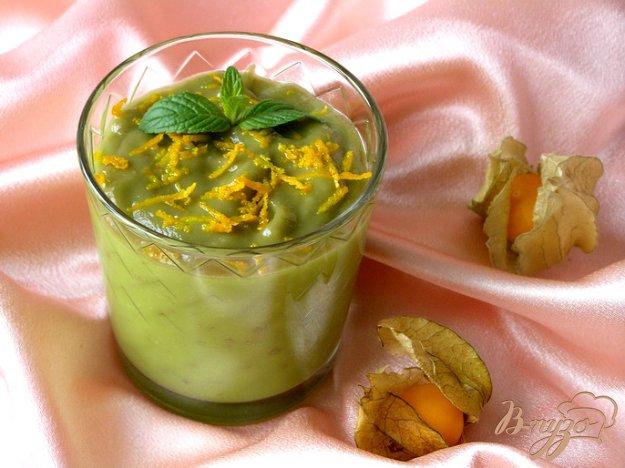 Рецепт Мусс из авокадо с апельсином