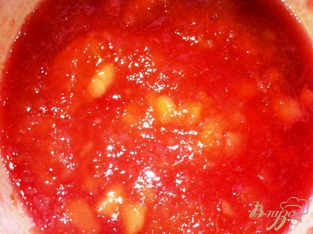 Фото приготовление рецепта: Яблочное пирожное с карамелизированными овсяными хлопьями шаг №9