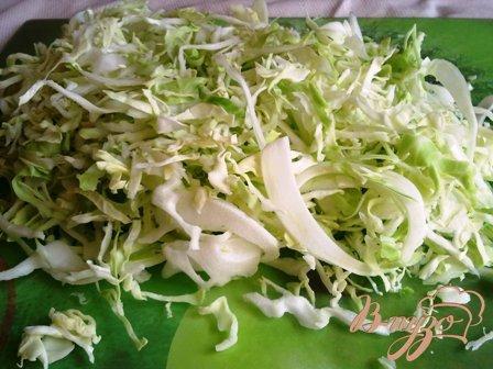 Тефтели с капустой под соусом
