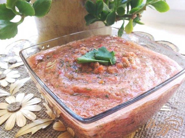 Рецепт Соус из помидоров и чеснока