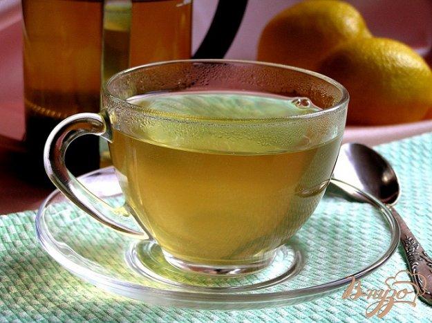 Рецепт Зеленый чай с водкой