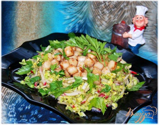 Рецепт Оригинальный салат «Морской бриз»