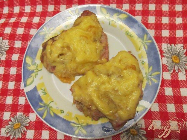 Рецепт Мясо под сырной шубкой
