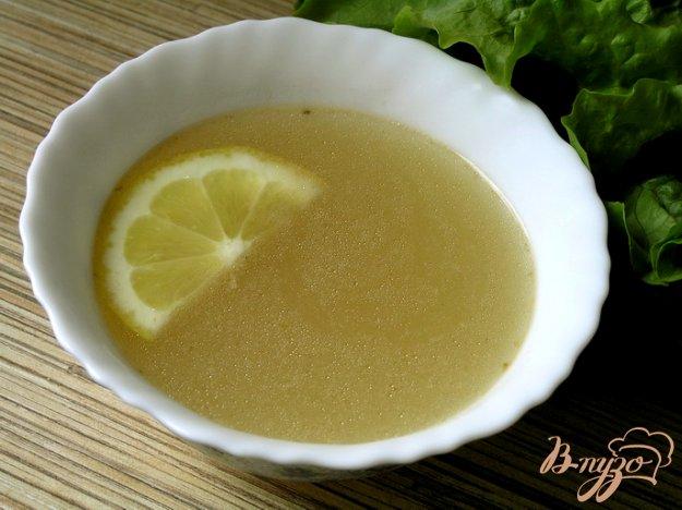 Рецепт Рыбный бульон (из форели)