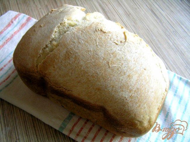 Фото приготовление рецепта: Пшеничный хлеб шаг №4