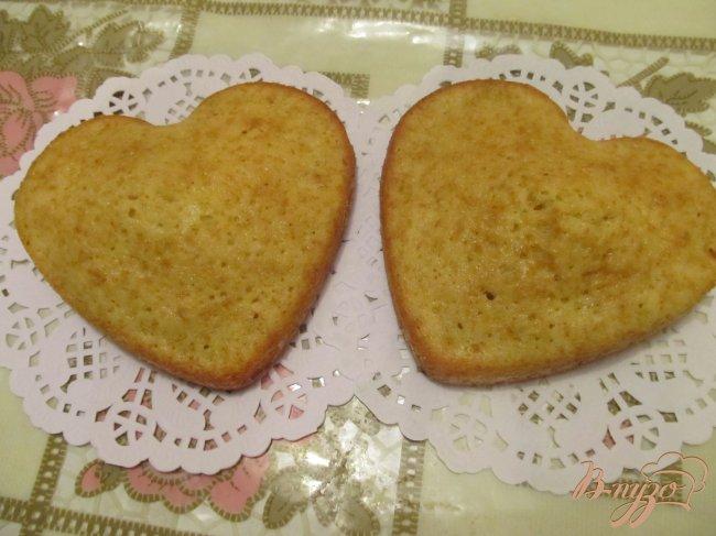 Фото приготовление рецепта: Апельсиновые сердечки шаг №5