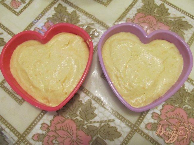 Фото приготовление рецепта: Апельсиновые сердечки шаг №4
