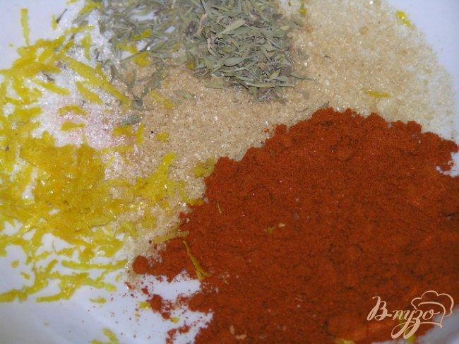 Фото приготовление рецепта: Семга в паприке шаг №4