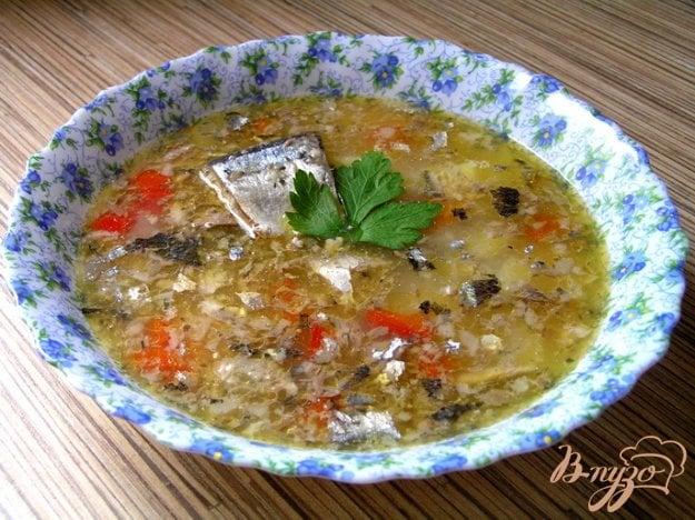 фото рецепта: Суп с консервой