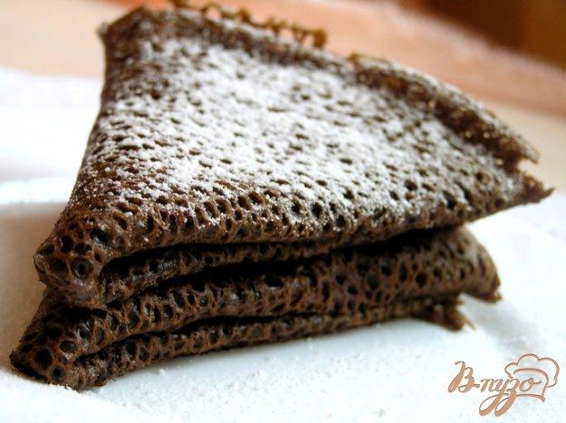 фото рецепта: Постные шоколадные блины