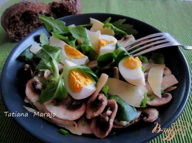 фото рецепта: Салат с грибами