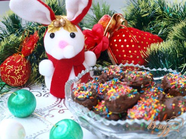 Рецепт Новогодние конфеты из чернослива