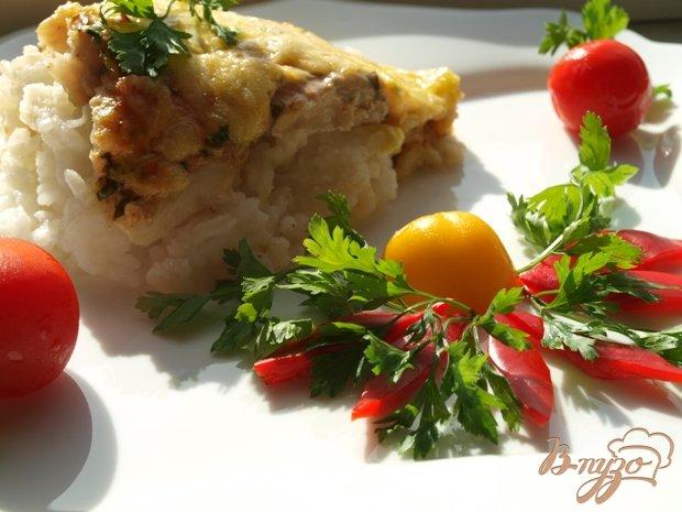 фото рецепта: Рыбная запеканка с рисом
