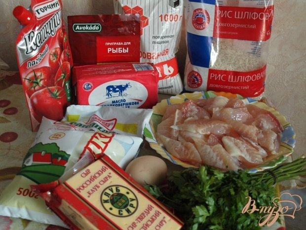 Фото приготовление рецепта: Рыбная запеканка с рисом шаг №1