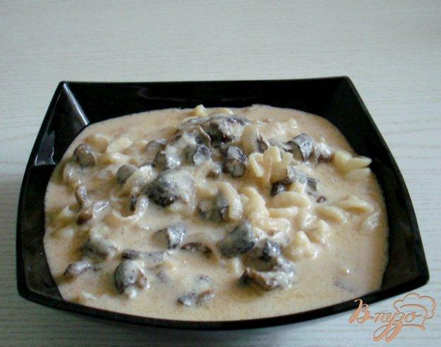 Рецепт Закарпатская грибная густая юшка на молоке и сметане