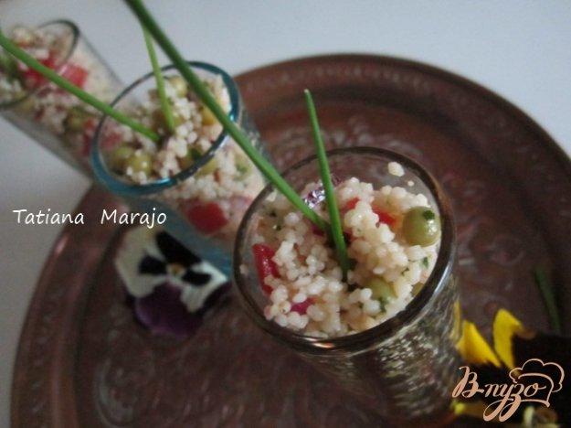 фото рецепта: Легкий салат с крупой