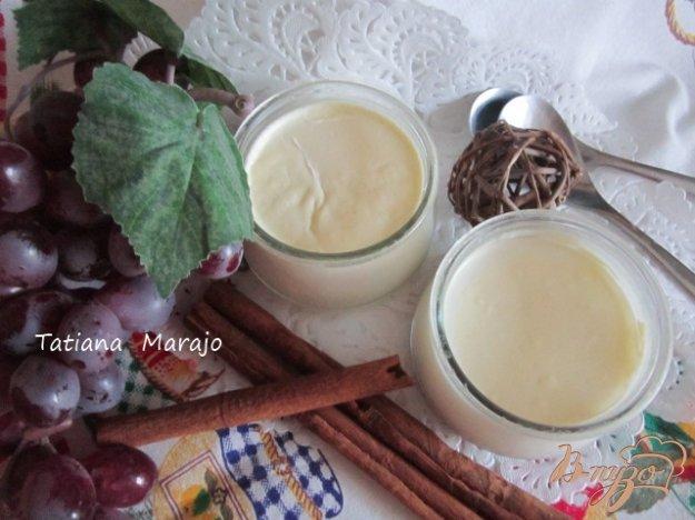 Рецепт Домашний йогурт с конфитюром из инжира