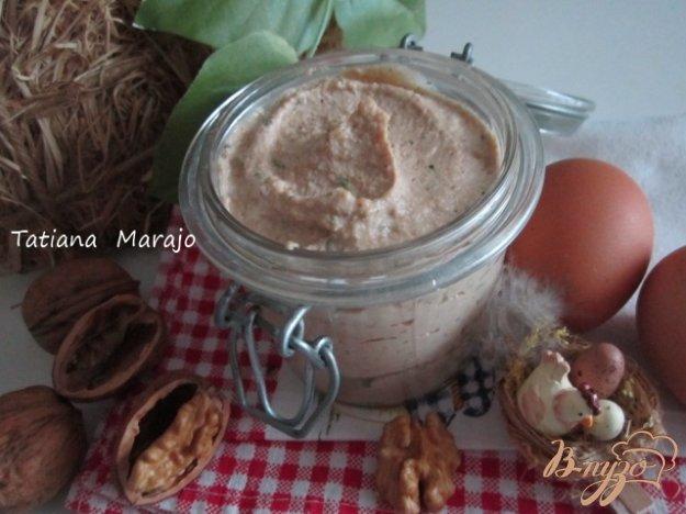 Рецепт Яичный паштет с орехами