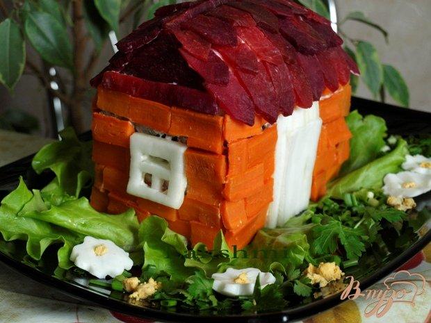 Домик в деревне фото салат