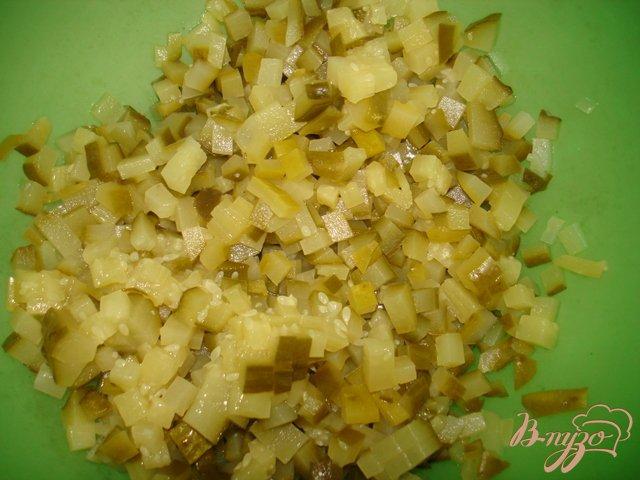 Фото приготовление рецепта: Картофельный салат шаг №2