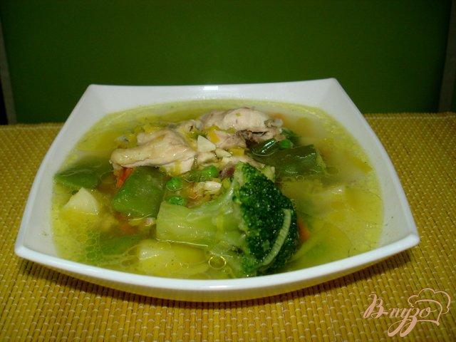 Фото приготовление рецепта: Овощной суп шаг №4