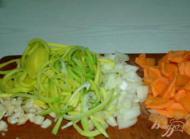 Фото приготовление рецепта: Овощной суп шаг №2