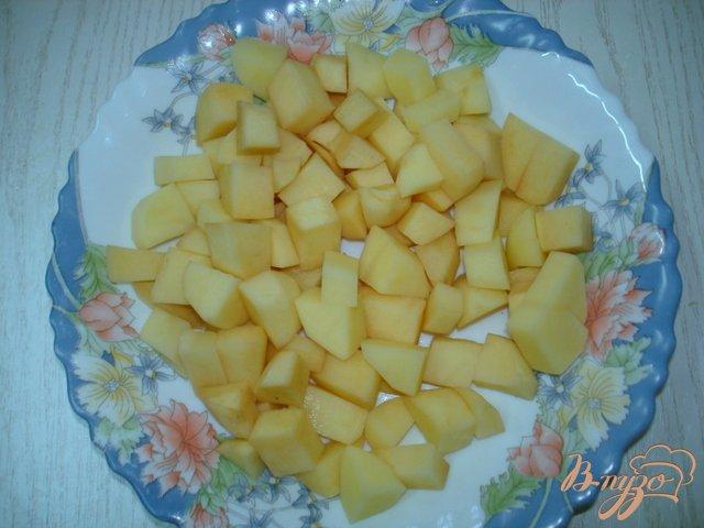 Фото приготовление рецепта: Овощной суп шаг №1