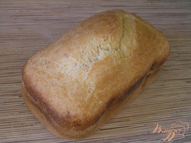 Фото приготовление рецепта: Хлеб с кукурузной мукой шаг №4