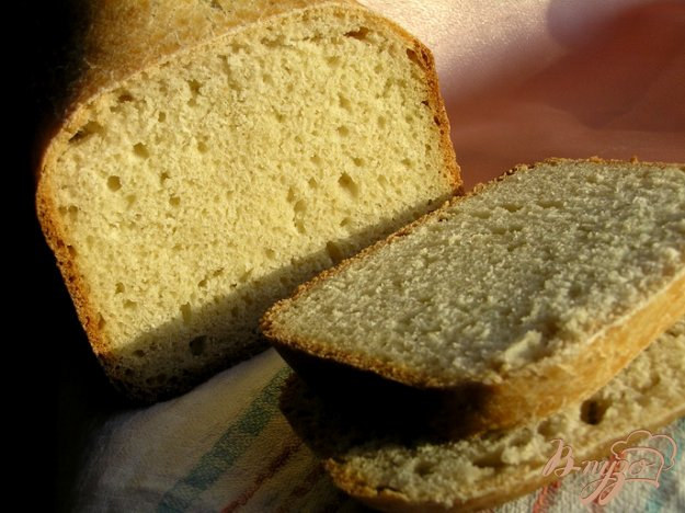 фото рецепта: Хлеб с кукурузной мукой