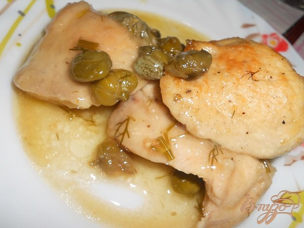 фото рецепта: Куриная пикката
