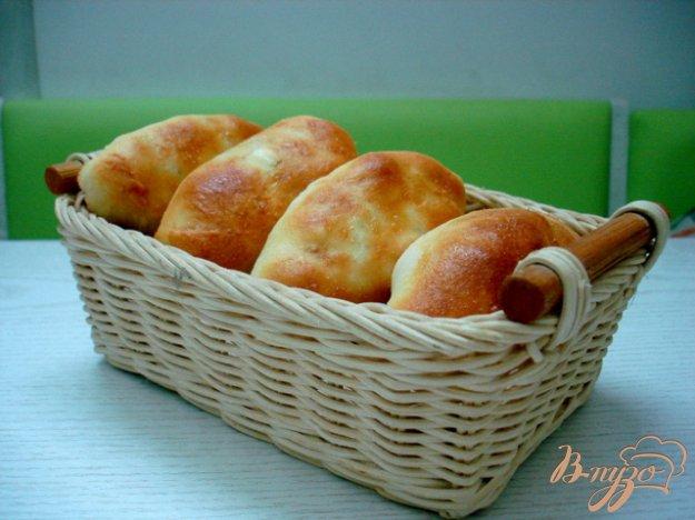 Рецепт Пирожки дрожжевые с капустой