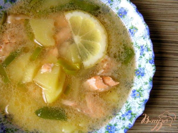 Рецепт Суп с форелью и лососем