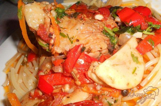 Рецепт Курица по-итальянски (каччиаторе)