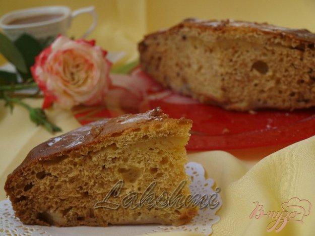 Рецепт Яблочный пирог на кислом молоке