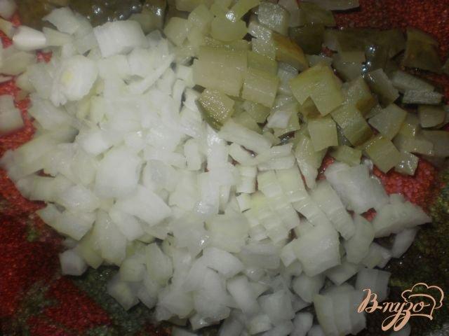 Фото приготовление рецепта: Солянка мясная шаг №4
