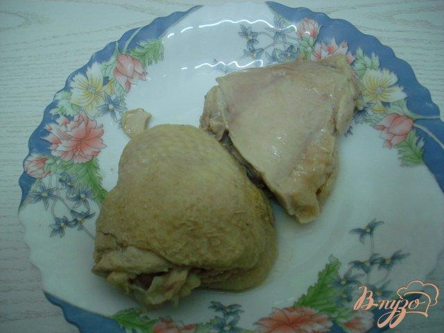 Фото приготовление рецепта: Заливное с курицей и овощами. шаг №1
