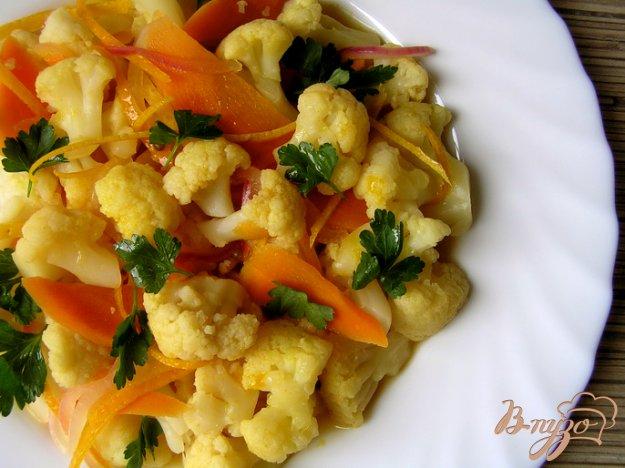 Рецепт Апельсиновая капуста от Армана Арналя