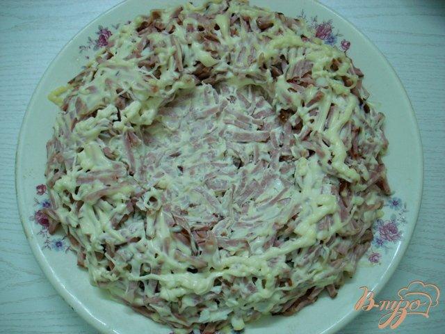 Фото приготовление рецепта: Салат  *Гнездо* шаг №8