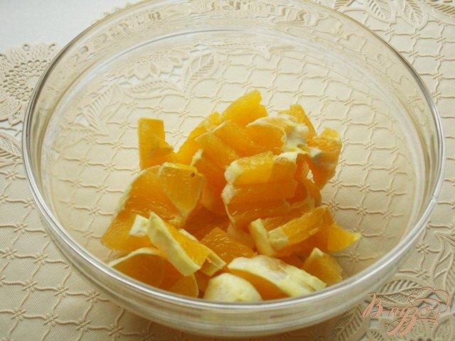 Фото приготовление рецепта: Салат фруктовый шаг №1