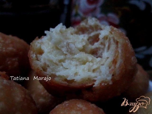 Фото приготовление рецепта: Дофины картофельные (Dauphines) шаг №8