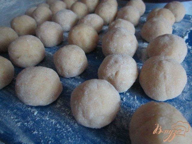 Фото приготовление рецепта: Дофины картофельные (Dauphines) шаг №6
