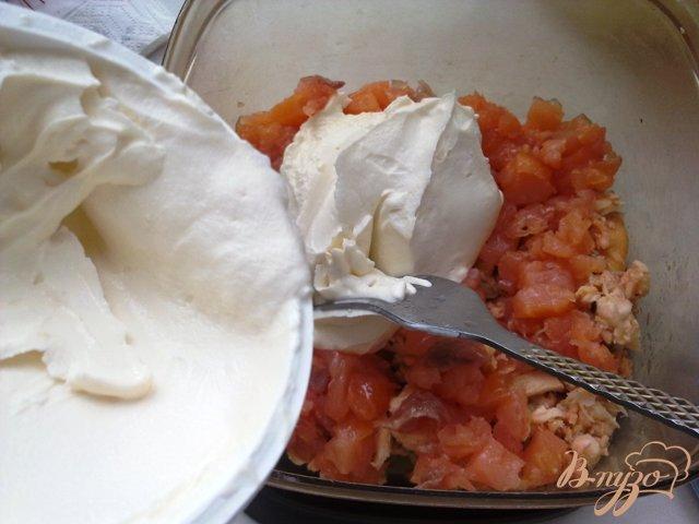 Фото приготовление рецепта: Рийет(паштет) из красной рыбы шаг №8